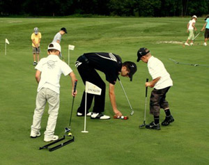 Youngsters Learning Golf
