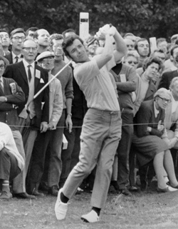 Tony Jacklin Tees Off